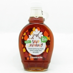 Sirup javorový grade C 250ml Country Life